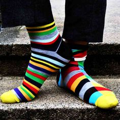 'Three odd socks': Why do socks always go missing? Send a friend these three oddly coordinating odd socks and there's no need to worry about it. They don't match and if they lose one - well never mind!