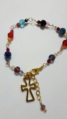 Pulsera My Faith  cristales