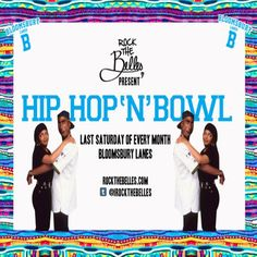 We like bowling, and we LOVE Hip-Hop. So, why not merge the two, throw in some of the hottest hip hop DJs about and BOOM – Hip Hop 'N' Bowl