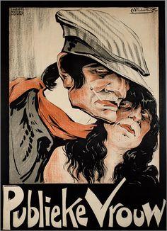 Theater Posters by Charles Verschuuren 1920s