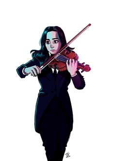 """""""The White Violin."""" Vanya Hargreeves [MB/S] The Violin is my passion… # Diversos # amreading # books # wattpad Series Movies, Movies And Tv Shows, Netflix Series, Under My Umbrella, Umbrella Art, Fan Art, Film Serie, My Chemical Romance, Belle Photo"""