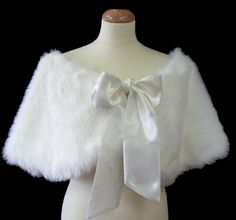 Bride's Maids wrap with short bow