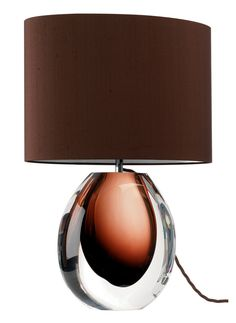 Beautiful Designer Chocolate Art Glass Perfume Bottle Table Lamp   Inspiring Interior Design Fans With Unique Luxury Hollywood Home Decor & Gift Ideas From InStyle-Decor.com Beverly Hills Enjoy & Happy Pinning