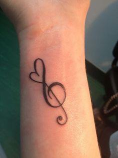 Omg, I want!!!!! Basically what Music Heart Tattoo, Tatoo Music, Music Tattoos, Body Art Tattoos, New Tattoos, Small Tattoos, Cool Tattoos, Tatoos, Tattoo Ink