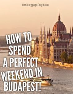 How To Spend A Perfect Weekend In Budapest Hand Luggage Only Travel Food &a Visit Budapest, Budapest Travel, Budapest Nightlife, Europe Travel Guide, Travel Abroad, Places To Travel, Travel Destinations, Hungary Travel, Hungary Food
