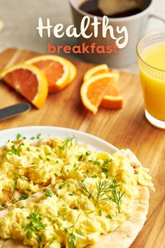 Check out our avocado based healthy breakfast recipes! Healthy Breakfast Recipes, Healthy Recipes, Delicious Recipes, Yummy Food, Avocados From Mexico, Scrambled Eggs, Naan, Recipe Ideas, Macaroni And Cheese