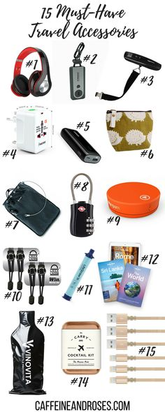 It seems like every month there's a brand new cutting-edge travel accessory that promises to solve all of your problems. Instead, stick with travel accessories for your travel style with great reviews. Check out my top 15 must-have travel accessories for every kind of trip and add them to your packing list today.