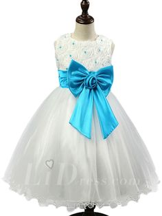 Blue Little kids Performance Dresses Style Lid1605051186