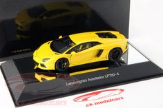 CK-Modelcars - 54648: Lamborghini Aventador LP700-4 построен в 2011 желтый металлик 1:43 AUTOART, EAN 674110546484