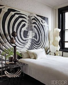 A Room Made by a Rib Cage Photograph - ELLEDecor.com