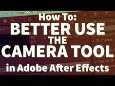 Learn to Better use the Camera in Adobe After Effects - YouTube