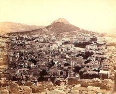 """Athens from the acropolis 