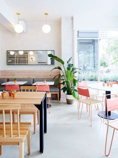 Poligöm / Restaurant le Dig Inn à Boston