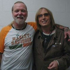 Greg Allman and Tom Petty. Photo by Kirk West.