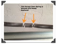 How to Replace Garage Door Extension Springs –   posted by Brittany (aka Pretty Handy Girl)