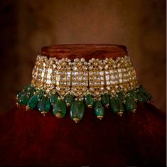 Indian Jewelry, Sabyasachi Choker Necklace Indian Necklace Set, Kundan Jewelry, 2 choices - New Ideas Indian Bridal Jewelry Sets, Bridal Jewellery, Pakistani Jewelry, Indian Necklace, Argent Sterling, Sterling Silver, Schmuck Design, Jewelry Collection, Bridal Collection