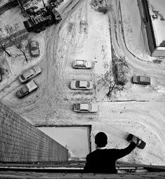 Playing with cars. By Alice.    http://semioticapocalypse.tumblr.com