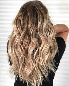 Here we've got come back up with the most effective assortment for blonde hair c. - Here we've got come back up with the most effective assortment for blonde hair color concepts. Brown Hair Balayage, Blonde Hair With Highlights, Brown Blonde Hair, Blonde Balayage, Brunette Hair, Butter Blonde Hair, Color Highlights, Dyed Blonde Hair, Blonde Tips