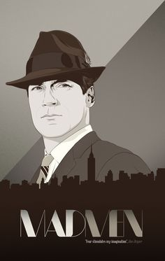 Mad Men by CranioDsgn - Don Draper awesomeness!