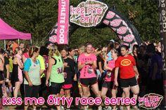 Kiss Me Dirty Mud Run Series -  Portland Intl. Raceway - Portland, OR ----- To be completed in September!!