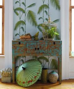 tropical console