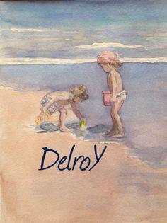DelroY estudio acuarela