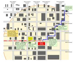 Timothy McVeigh's movements during Oklahoma City bombing