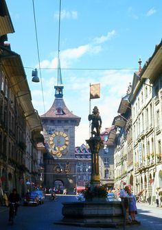 Bern, Switzerland.  I grew up in Bernstadt, KY,  a colony established by Swiss immigrants from Bern.