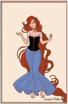 Rapunzel en AzaleasDolls amantes - DeviantArt