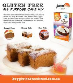Gluten Free Blog   Gluten Free Cake & Bread Mixes   Buy online