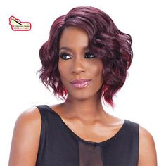 Equal Synthetic Invisible Lace Front L Part Wig Sammi | eBay