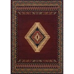 """WOULD COVER MOST OF FLOOR $52.51  5'3"""" x 7'6"""" United Weavers Brunswick Avalon Woven Olefin Scatter Rug"""