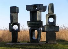 By the time Hepworth died on May 20,1975, she had executed almost 600 sculptures over 50 years and had been knighted by Queen Elizabeth in 1965.