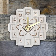 Pin by ashish dutt sharma on periodic table clock pinterest clocks periodic table clock urtaz Images