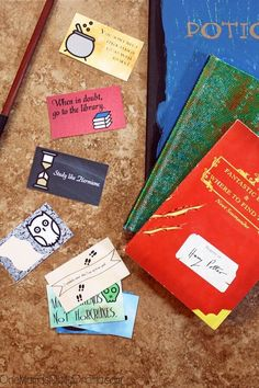 Harry Potter Lunchbox Notes - One Mama's Daily Drama