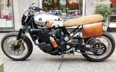 RocketGarage Cafe Racer: Triumph Track Horse