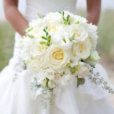 My bridal bouquet and wedding flowers