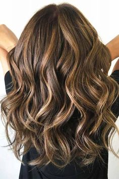 12 Gorgeous Caramel Hair Color Ideas You Need to Try Impressive Long Brown Hair With Caramel Highlights This image has. Brown Hair With Blonde Highlights, Brown Ombre Hair, Long Brown Hair, Light Brown Hair, Long Curly Hair, Long Hair Cuts, Brown Hair Colors, Curly Hair Styles, Balayage Highlights