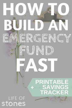 Emergency Fund - Why you need one and how to build one...fast! Saving $1,000 emergency fund is essential to getting out of debt and living debt free! Dave Ramsey | pay off debt | save money | baby steps | emergency fund | personal finance | budgeting