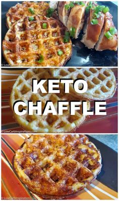 Keto Chaffle Recipe What is a Chaffle anyway? In the Keto world the Chaffle is basically a waffle made of egg and cheese! Here are a few variations of the keto Chaffle recipe! Keto Chaffle Recipe plus tips and tricks! Ketogenic Diet Plan, Ketogenic Recipes, Low Carb Recipes, Diet Recipes, Slimfast Recipes, Dessert Recipes, Breakfast Recipes, Diet Breakfast, Vegetarian Recipes