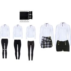 """Uniforme escolar"" by julieety on Polyvore"
