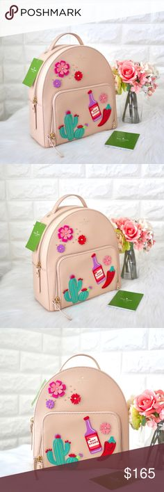939adacb707e 💖NWT Kate Spade Cactus Tommi Backpack 🌿BRAND NEW WITH TAG. 🌿DETAILS