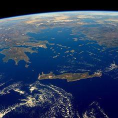 NASA Uzay'dan Türkiye'nin Fotoğrafını Yayınladı.
