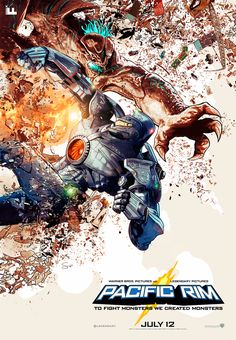 Pacific Rim Gets Two Stunning New Posters From IMAX And Odd City