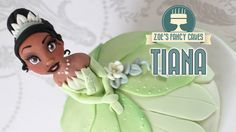 How to make a Tiana Disney princess doll cake from The Princess and the Frog Disney movie. This is my first Disney Princess doll cake video after lots of req...