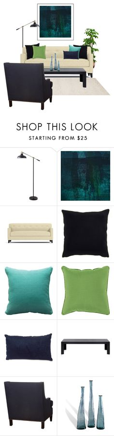 Undersea by she-kills-monsters on Polyvore featuring interior, interiors, interior design, home, home decor, interior decorating, Kartell, Threshold, Surya and Dot & Bo