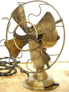 Antique Westinghouse All Brass Brass Blade Electric Desk Fan 20s Vintage Working | eBay