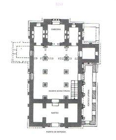 Arquitectura asturiana. Planta de San Salvador de Valdedios.