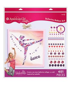 Look what I found on #zulily! Girl of the Year 2014 Ballerina Wall Art Kit by American Girl Crafts #zulilyfinds