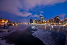 12 Incredible Photos of Pittsburgh's Icy Rivers - The 412 - February 2015